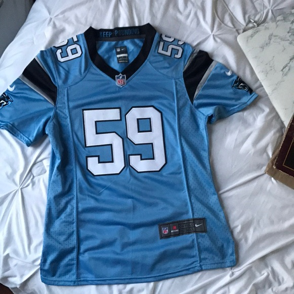the best attitude 76177 dd4c9 Carolina Panthers Luke Kuechly Jersey (Imitation)